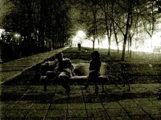 Паметник на невъзможната любов / на Канала - нощ / 2016 / виртуален / автор Спартак Дерменджиев